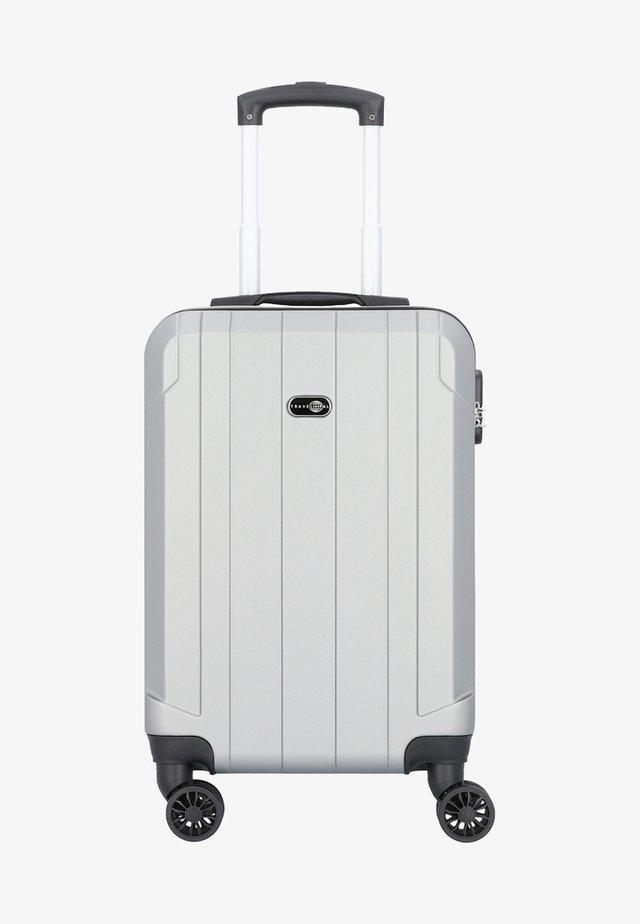 MIT DOPPELROLLEN - Wheeled suitcase - silver