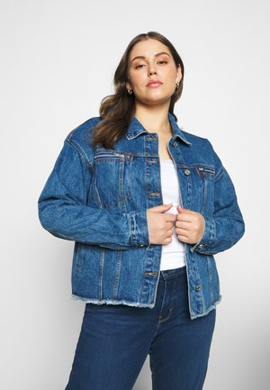 OVERSIZED JACKET - Denim jacket - indigo