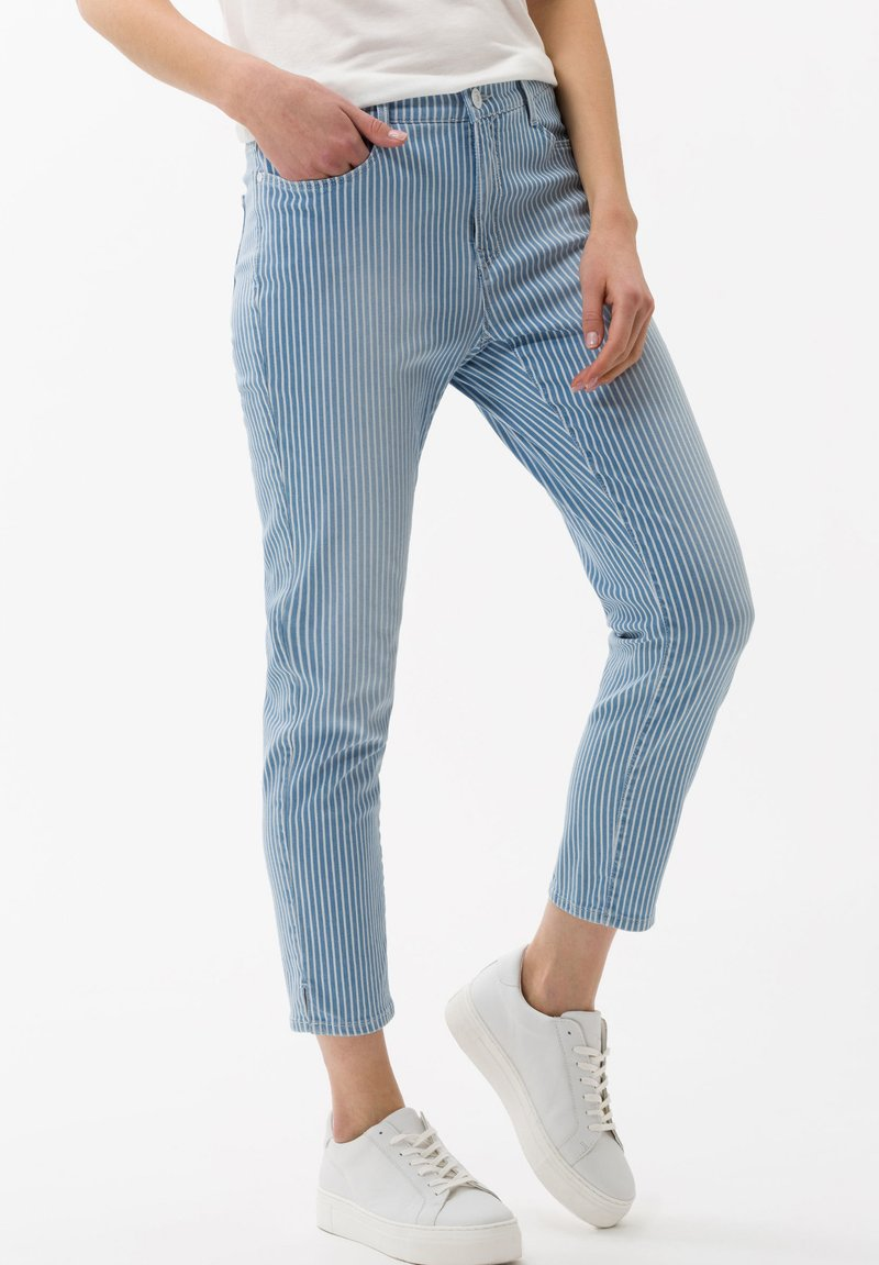 BRAX - STYLE MARY  - Slim fit jeans - light blue