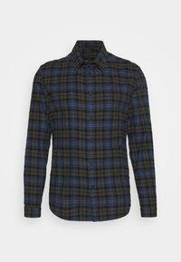 RUBEN - Shirt - blau/grey