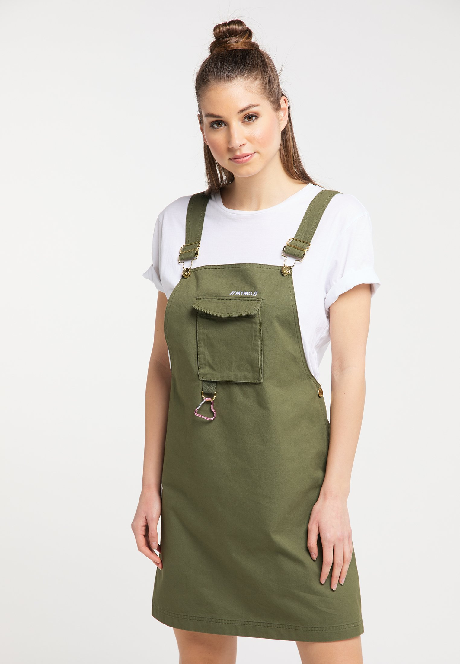 New Arrival Women's Clothing myMo Day dress military green 6jtetGHHo