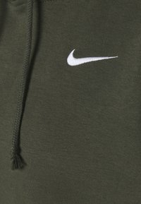 Nike Sportswear - HOODIE TREND - Felpa con cappuccio - cargo khaki/white - 6
