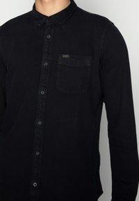 Lee - BUTTON DOWN - Overhemd - black - 4
