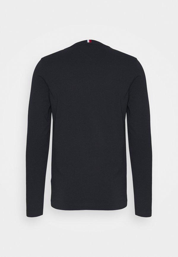 Tommy Hilfiger ESSENTIAL TEE - Bluzka z długim rękawem - desert sky/granatowy Odzież Męska QXGR