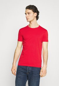 Calvin Klein Jeans - SLIM TEE 3 PACK - T-paita - red/black/white - 3