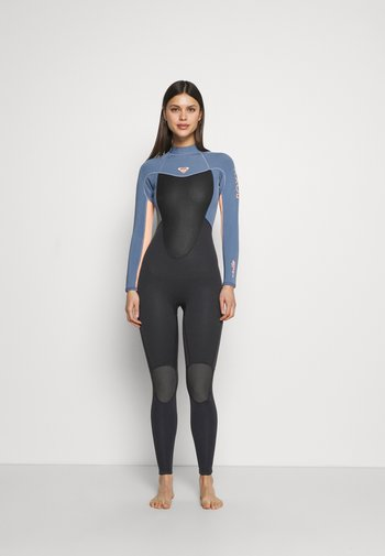 PROLOGUE WOMEN - Swimsuit - cloud black/powder dark grey/sunglow