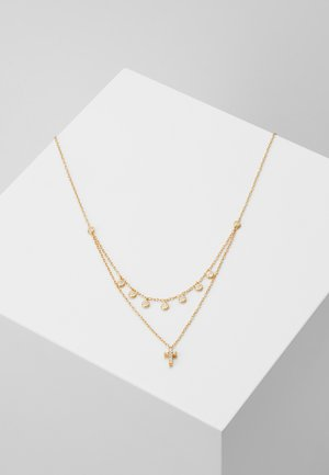 CROSS ROW - Necklace - gold-coloured