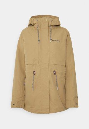 DROP RIDGE™ INTERCHANGE JACKET 2-IN-1 - Outdoor jacket - beach/black