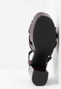 Even&Odd - Sandály na vysokém podpatku - bordeaux - 6