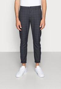 Gabba - PISA REDUE PANTS - Trousers - grey check - 0