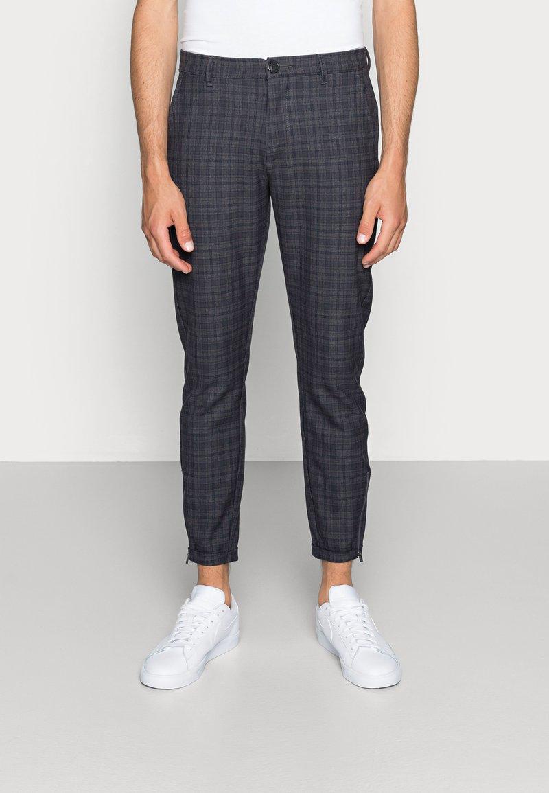 Gabba - PISA REDUE PANTS - Trousers - grey check