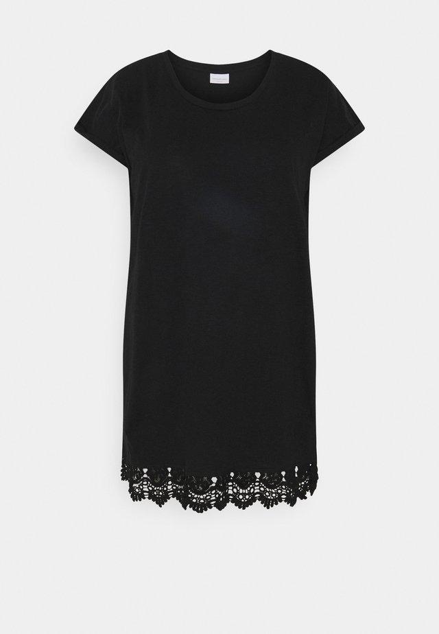 MLALETTA TUNIC - Žerzejové šaty - black