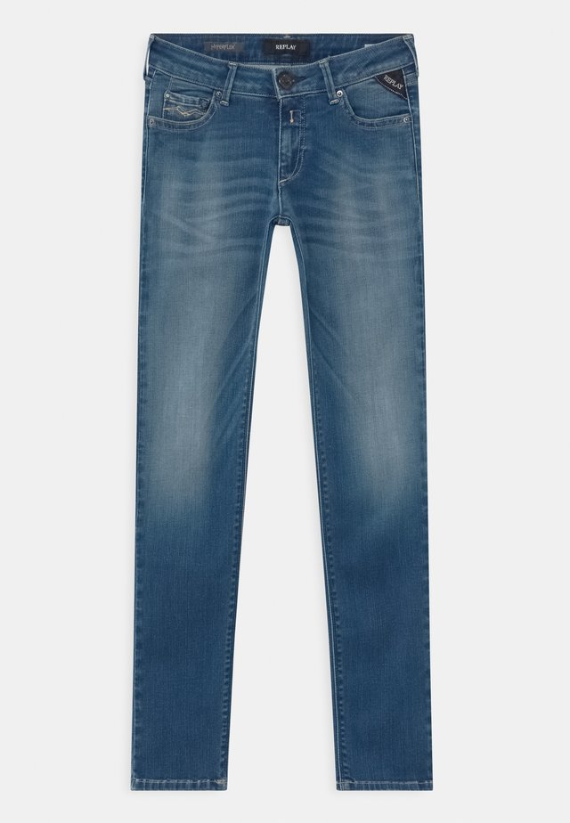 HYPERFLEX BIO - Slim fit jeans - blue denim