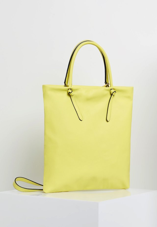 Shopping bag - limette