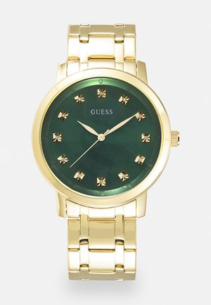 UNISEX - Watch - gold-coloured/green