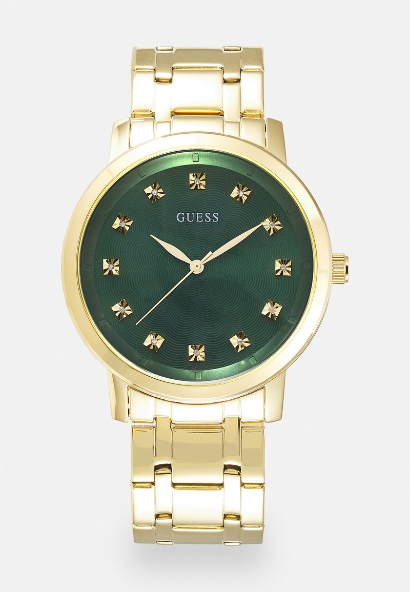 Guess - UNISEX - Orologio - gold-coloured/green