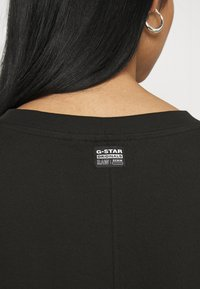 G-Star - RAW ADJUSTABLE TEE DRESS - Jerseyjurk - black - 3