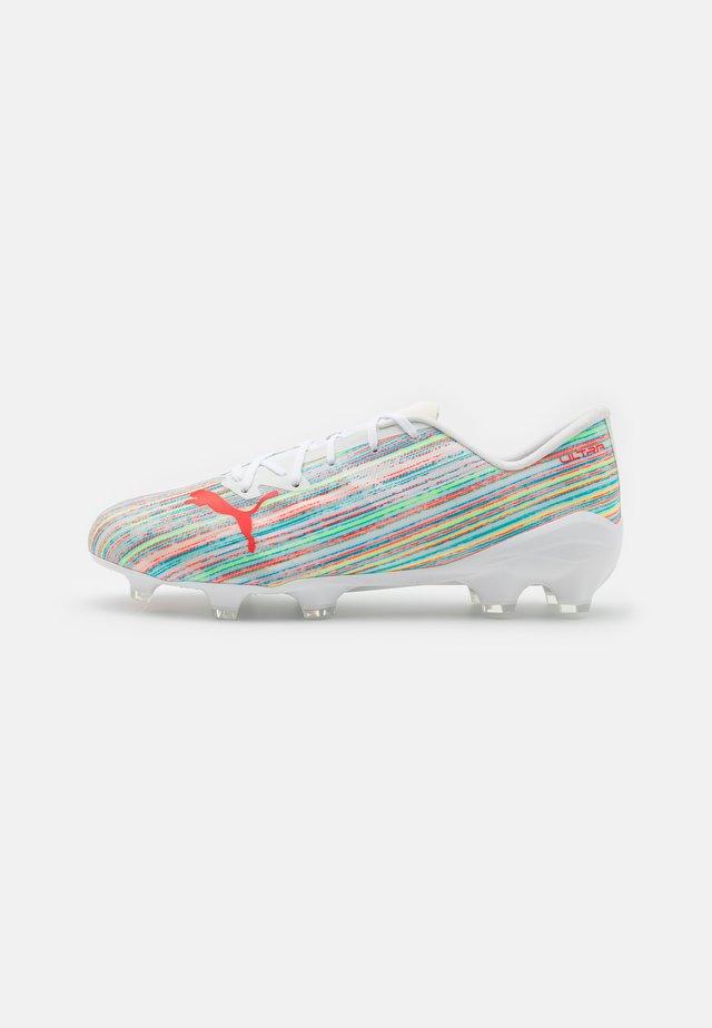 ULTRA 2.2 FG/AG - Fodboldstøvler m/ faste knobber - white/red blast