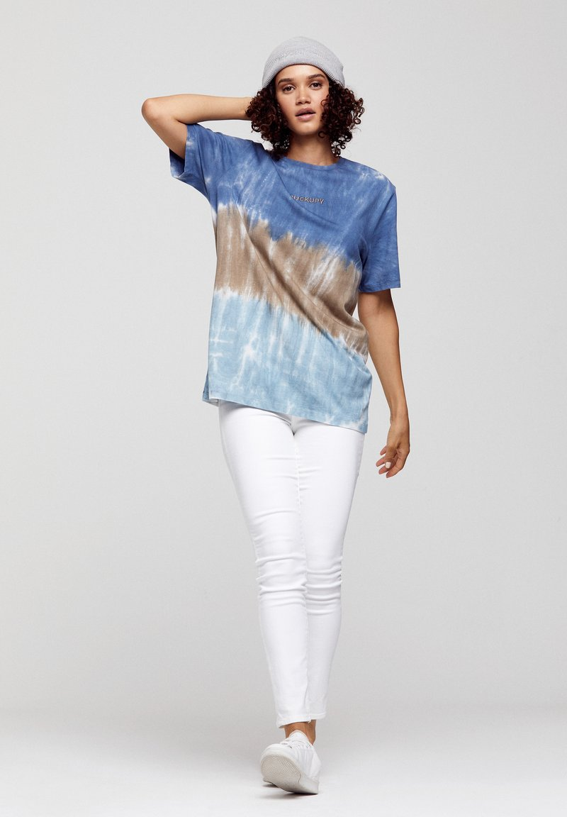 ROCKUPY - Print T-shirt - batic, multicolor