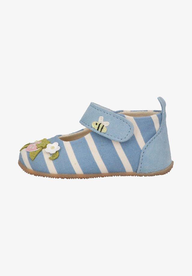 BÄR ERDBEERE - Babyschoenen - baby blue