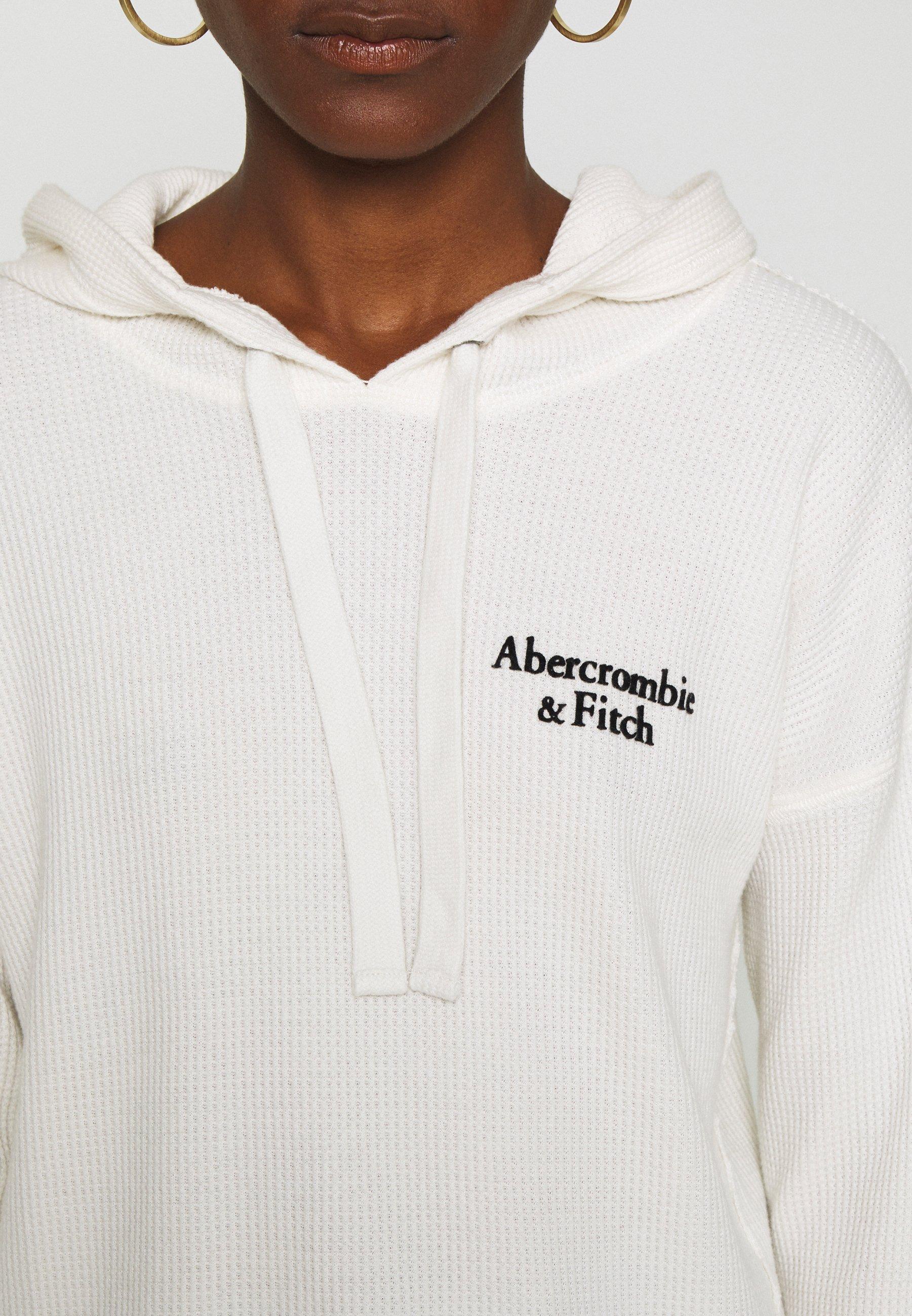 Abercrombie & Fitch CORE Hoodie white Zalando.nl