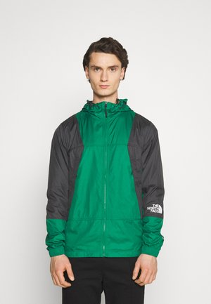 LIGHT WINDSHELL JACKET - Veste coupe-vent - evergreen/black