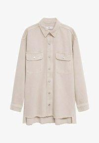 Mango - MAIA - Button-down blouse - beige - 5