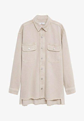 MAIA - Button-down blouse - beige
