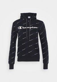 Champion - HOODED LEGACY - Huppari - dark blue - 4