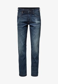 G-Star - 3301 STRAIGHT - Jeans a sigaretta - dk aged - 4