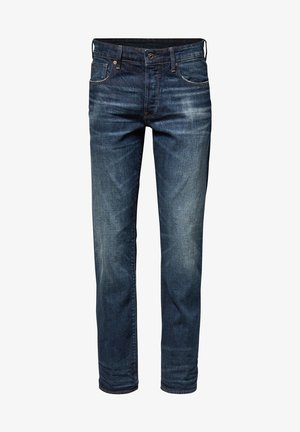 3301 STRAIGHT - Straight leg jeans - dk aged