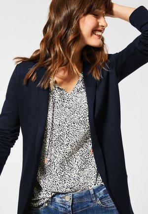 LANGER  - Short coat - blau