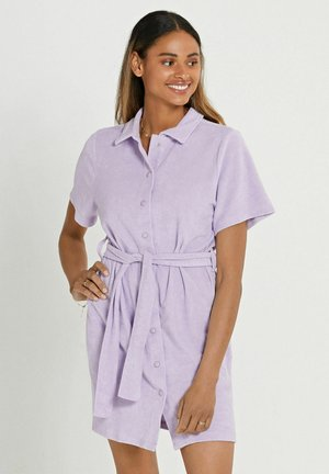 LA PAZ TOWELING  - Gebreide jurk - pastel lilac purple
