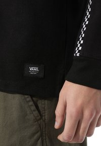 Vans - MN CHECK THROUGH LS - Long sleeved top - black - 1