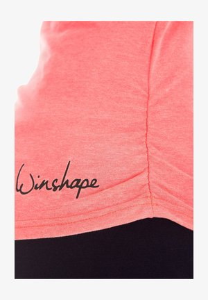 Long sleeved top - neon coral