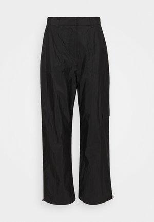 PANTS - Cargobukse - black