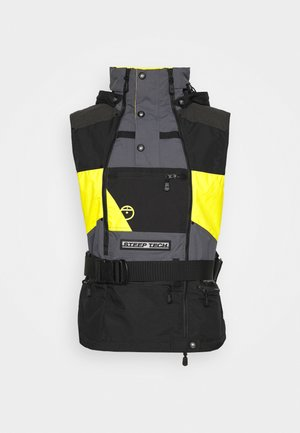 STEEP TECH APOGEE VEST - Waistcoat - lightning yellow/tnf black