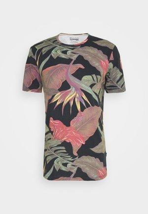 T-shirt print - dark navy blue