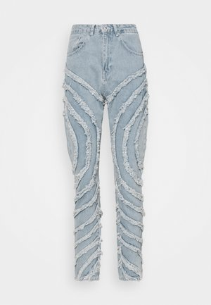 GAZE JEAN - Straight leg jeans - light blue