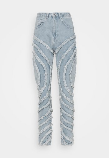 GAZE JEAN - Jeans straight leg - light blue