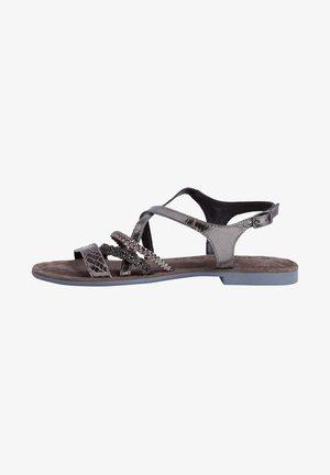 SANDALS - Sandals - pewter