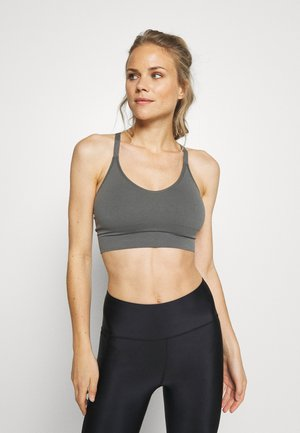CROSSBACK SEAMLESS MIDI - Topper - green grey