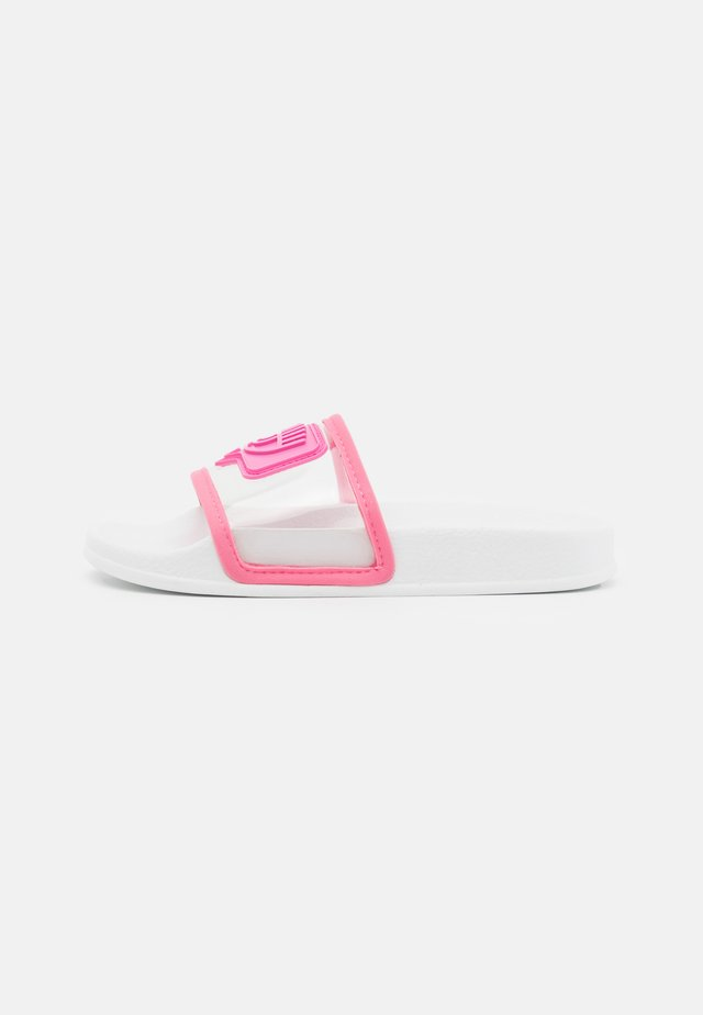 SLIDERS EYELIKE - Badslippers - pink
