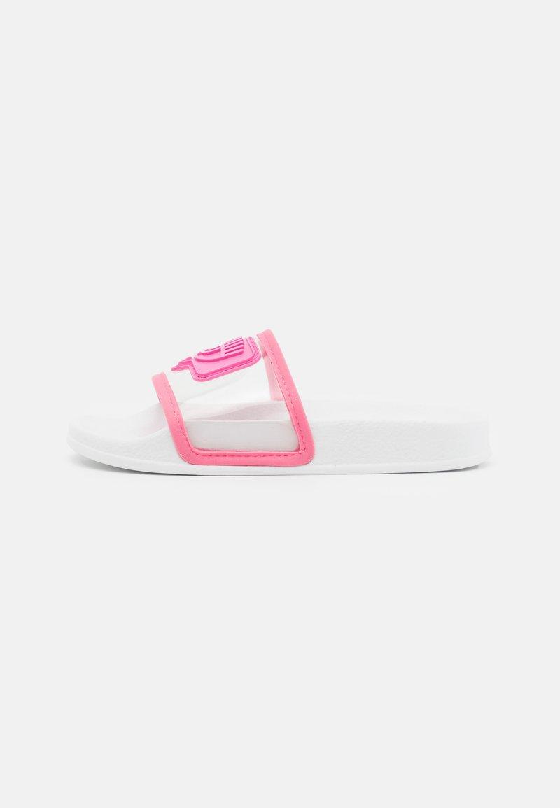 CHIARA FERRAGNI - SLIDERS EYELIKE - Sandály do bazénu - pink