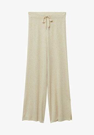 LINO PUNTO - Trousers - gris claro/pastel