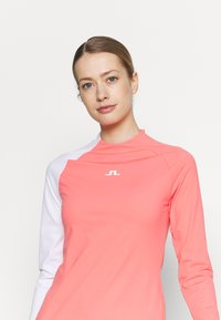 J.LINDEBERG - WILLA GOLF DRESS 2IN1 - Sports dress - tropical coral - 3