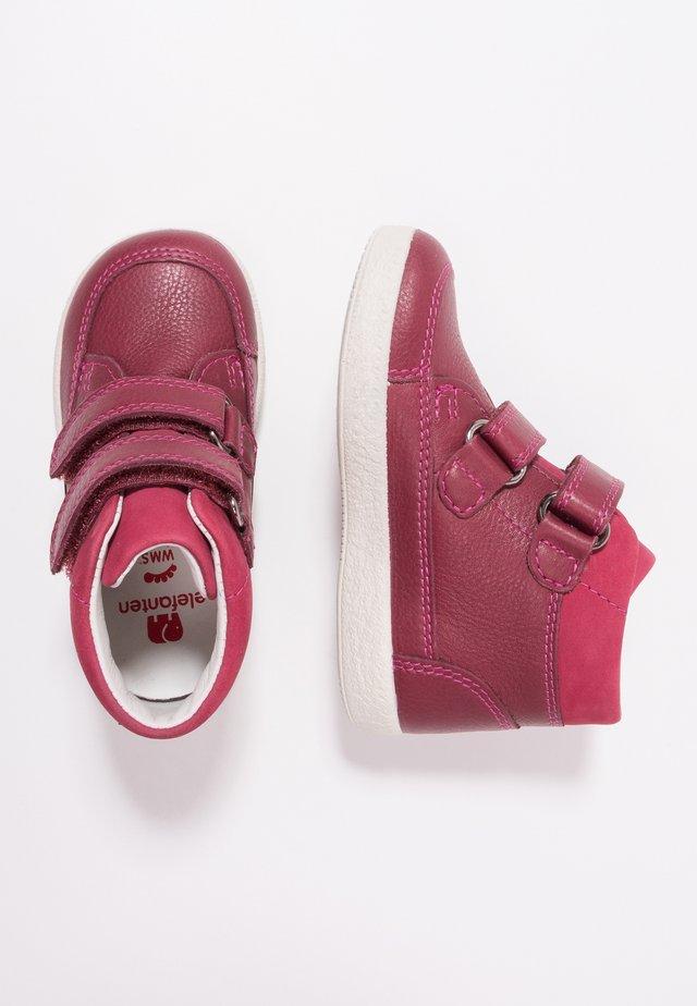 LAIS LOU NEW - Baby shoes - bordeaux