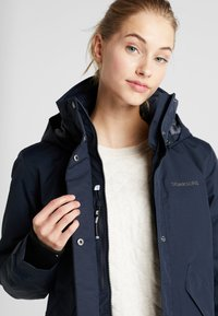 Didriksons - TANJA WOMENS - Parka - dark night blue - 5