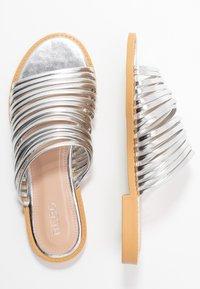 BEBO - RIA - Pantofle - silver - 3