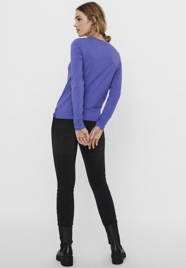 Vero Moda Bluzka z długim rękawem - blue iris/niebieski VNYY